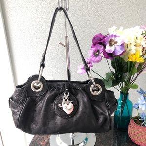 Juicy Couture Black Shoulder / Hobo / Tote Bag